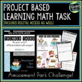 Thinker Tasks:  Amusement Park Math Project Grades 2-4