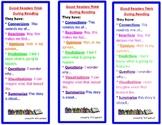 Reading is Thinking Bookmark- CROP-QVS