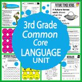 Third Grade Common Core Language Unit--200 + pages!