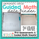 Third Grade Common Core Math - Pre-Assessments & Small Gro