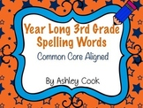 Third Grade Common Core Spelling Lists