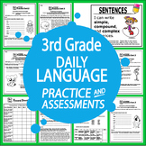 3rd Grade Language-Daily Practice & Assessments