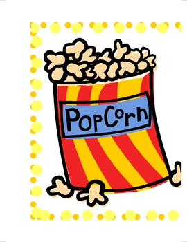 Third Grade Dolch Popcorn Words