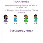 Third Grade Common Core ELA and Math MEGA Bundle