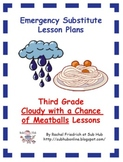 Third Grade Emergency Sub Plans
