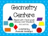Third Grade Geometry Centers