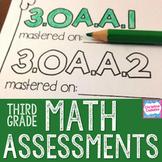 Math Assessments: Third Grade Common Core