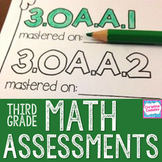 Common Core Math Assessments - Third Grade