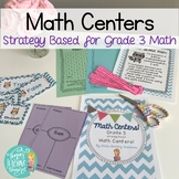 Third Grade Math Centers: By Strategy- All 10 BUNDLE