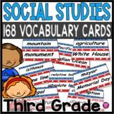 Third Grade/Social Studies/Year Long/ Vocabulary Cards