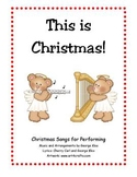 This is Christmas! 2 CD set for Christmas performances in