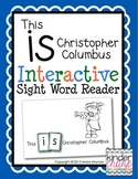 "Interactive Sight Word Reader ""This IS Christopher Columbus"""