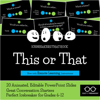 This or That: An Icebreaker that Rocks!
