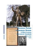 DBQ: Thomas Paine Common Sense--Close Reading  Lesson