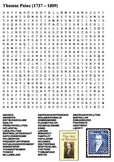 Thomas Paine Word Search