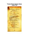 Thomas Paine's Common Sense - Common Core Lesson Plan