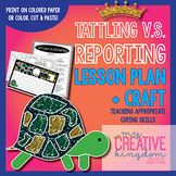 Thomas Turtle Lesson – Tattling Vs. Reporting