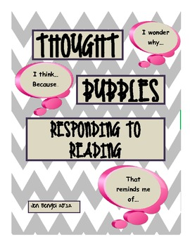 Thought Bubbles: Printable Graphic Organizer for Daily Ind