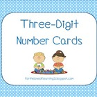 Three-Digit Number Cards