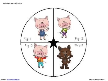 Three Pigs graphing Activity