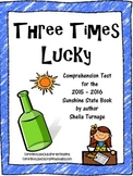 Three Times Lucky - Comprehension Test