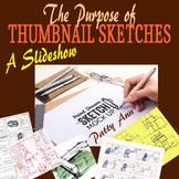 THUMBNAIL SKETCHES: Form & Function + Activities! 4 Graphi