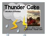Thunder Cake Book Activities