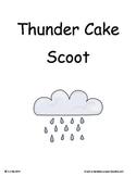 Thunder Cake ~ Scoot Game ~ Language Arts ~ Task Cards