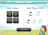 Tic Tac Math Algebra Interactive Math Game Application - For Mac