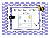Tic Tac Toe Number Sense Center