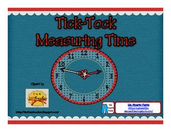 Tick Tock Measuring Time