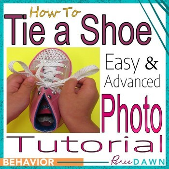 https://www.teacherspayteachers.com/Product/Tie-a-Shoe-Photo-Tutorial-1926684