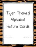 Tiger Themed Alphabet Cards