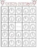 Time Bingo: Common core aligned (hour and half hour)
