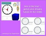 Time Smart Board Unit {1st grade}