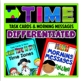 Time Task Cards and Morning Messages