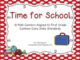 Time for School Math Centers