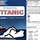 Titanic MEGA Activity Packet FREE SAMPLER