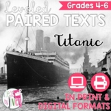 Titanic Paired Texts Grades 4-8 (Constructed Response)