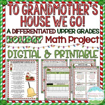 To Grandmother's House We Go: A Holiday Math Project for the Upper Grades