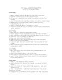 To Kill a Mockingbird Study Guide (Harper Lee)