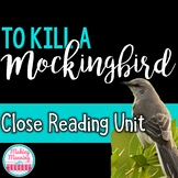 To Kill a Mockingbird CLOSE READING PASSAGES - UPDATED