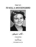 To Kill a Mockingbird Crossword Puzzle and Quotation Ident