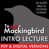 To Kill a Mockingbird Dazzling Lecture Materials to Launch