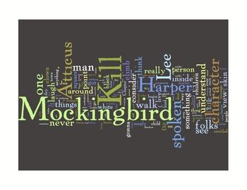 """To Kill a Mockingbird"" Inspired Classroom Art Literature Prints"