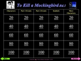 To Kill a Mockingbird Powerpoint Review Game - 2 rounds +
