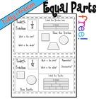 Equal Parts Daily Math Freebie