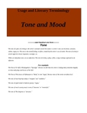 Tone and Mood: Five class activities to teach two difficul