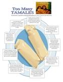 Too Many Tamales Menu Options