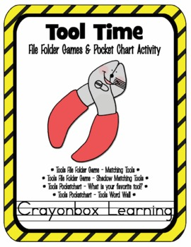 Tool Time File Folder Games & Activities